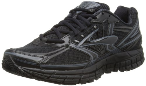 Brooks Mens Adrenaline GTS 14 Running Shoes 1101581D900 Black/Anthracite/Pavement 12 UK, 47.5 EU, 13 US Regular