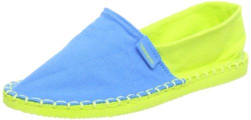 Havaianas Origine Kids, Espadrillas Unisex-bambino, Blue/Lemon Green, 31 EU