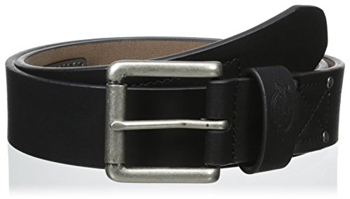 Dickies Men's 38mm Beveled Edge Stitch Belt, Black, 36 (Dickies Leather Belt compare prices)