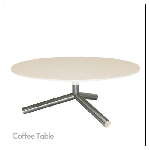 Blu Dot Sprout Tables By Blu Dot, Color = Ivory; Size = Coffee Table