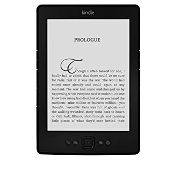 "Kindle, 6"" E Ink Make Visible, Wi-Fi - Includes Special Offers (Black)"