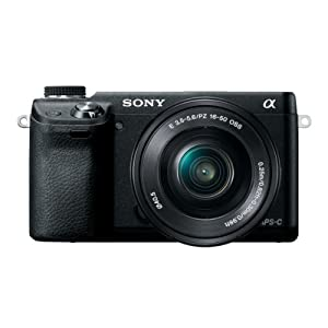 Sony NEX-6L/B Mirrorless Digital Camera with 16-50mm Power Zoom Lens and 3-Inch LED (Black) (OLD MODEL)