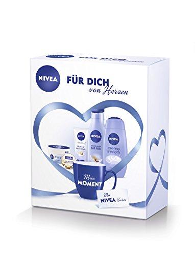 NIVEA Geschenkset Für dich von Herzen, 1er Pack (1 x 667 ml)