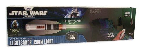 Imagen de Uncle Milton Star Wars Lightsaber control remoto Light Room - Lucas