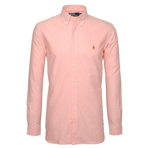 Ralph Lauren Custom Fit Casual Shirt In Pink - Size 17.5