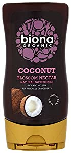 Biona Organic Coconut Blossom Nectar 350 g (Pack of 2)
