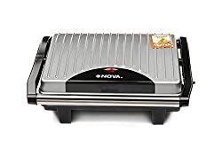 Nova NGS 2449 1000-Watt 2-Slice Sandwich Maker (Black/Grey)
