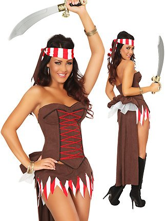 Sexy Pirate Costumes for Women