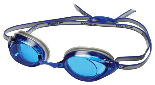 Speedo Vanquisher 2.0 Swim-Swimming Competition Racing Goggles - Anti-Fog -Blue
