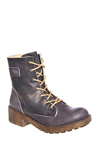 Van Low Heel Lace Up Boot