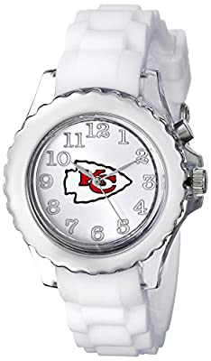 "Game Time Youth NFL-FLW-KC ""Flash White"" Watch - Kansas City Chiefs"