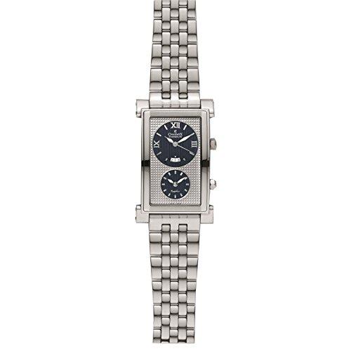 Charmex Cosmopolitan 1902 29x45mm Silver Steel Bracelet & Case Synthetic Sapphire Men's Watch
