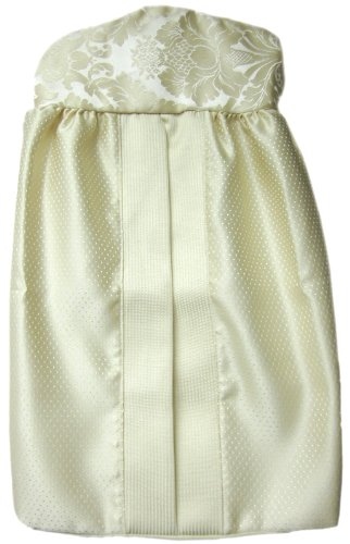 Baby Doll Bedding Gold Sensation Diaper Stacker, Gold