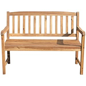brema 51912 bank 2 sitzer santiago akazie gartenbank holz. Black Bedroom Furniture Sets. Home Design Ideas