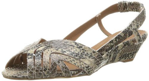 Pastelle Women's Paz Fashion Sandals Gray Gris (Python) 7 (41 EU)