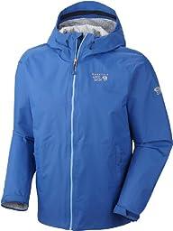 Mountain Hardwear Plasmic Jacket - Men\'s Blue Ridge X-Large