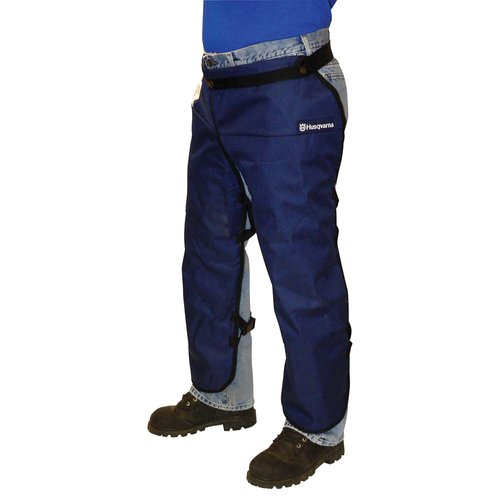 Husqvarna 531309565 Pro forest Apron Chaps, Blue