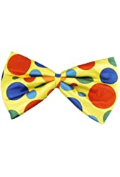 Forum Jumbo Polka Dot Clown Bowtie