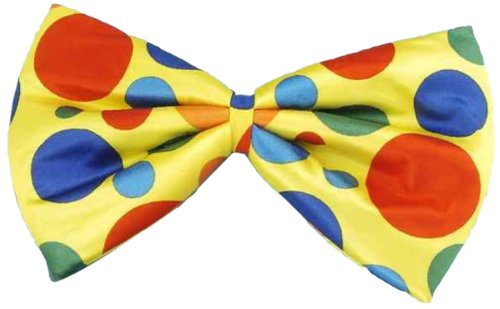 Forum Jumbo Polka Dot Clown Bowtie