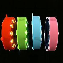 ASbeforereg072W 12-light Modern Plastic LED Solar Garden Light TYN
