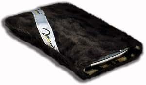Norrun Handytasche / Handyhülle # Modell Leorna # ersetzt die Handy-Tasche von Hersteller / Modell Samsung Galaxy Note 2 # maßgeschneidert # mit einseitig eingenähtem Strahlenschutz gegen Elektro-Smog # Mikrofasereinlage # Made in Germany