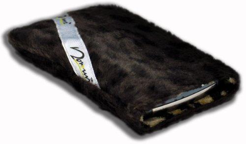 Norrun Handytasche / Handyhülle # Modell Leorna # ersetzt die Handy-Tasche von Hersteller / Modell Benq-Siemens S55 # maßgeschneidert # mit einseitig eingenähtem Strahlenschutz gegen Elektro-Smog # Mikrofasereinlage # Made in Germany