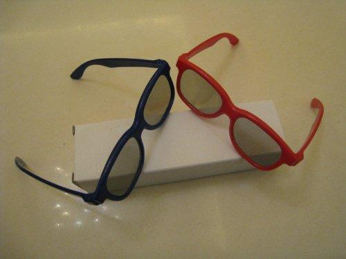 Two Kids 3D Glass For Passive Polarized Lg Samsung Vizio Sony Jvc Toshiba Tv