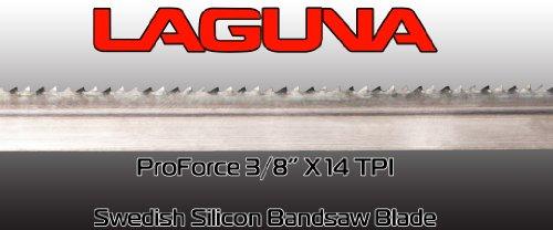 "3//8/"" X 8 TPI X 125/"" Bandsaw Blade Laguna Tools Proforce Wood Band Saw Blade"