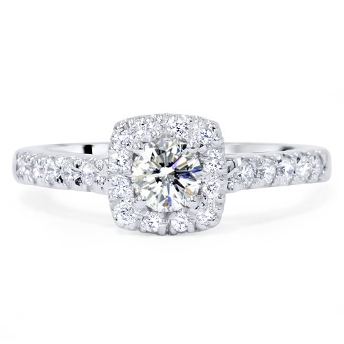 Kaitlyn Bristowes 3.5 carats cushion cut diamond ...