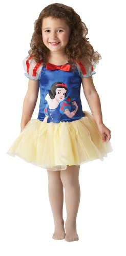 Snow White Ballerina Toddler Kids Disney Princess Fancy Dress Up Party