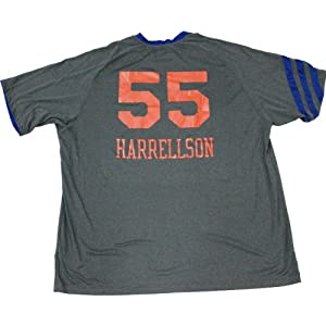 Josh Harrellson Shirt - NY Knicks 2011-2012 Game Worn #55 Grey Warmup Shirt (3XL) by Steiner Sports