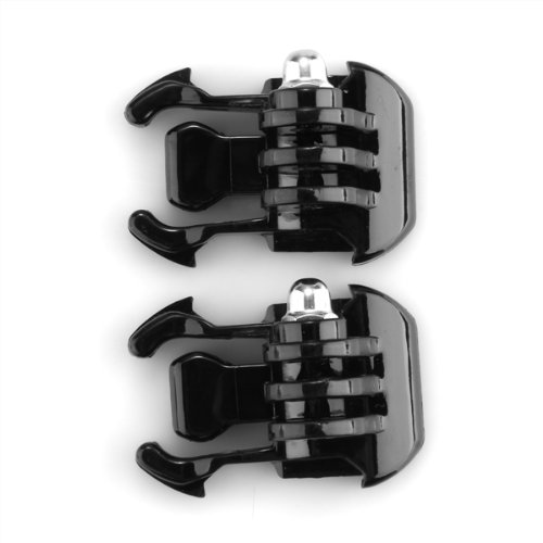 2x-black-buckle-basic-strap-mount-for-gopro-hero-3-3-2-1-camera-camcorder