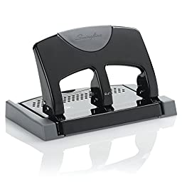 Swingline 3 Hole Punch, SmartTouch, Low Force, 45 Sheets (A7074136)