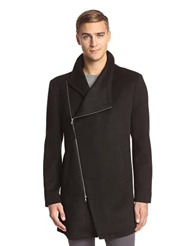 Religion Men's Slate Asymmetric Coat