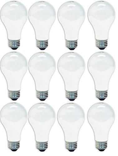 GE Lighting 41028 60-Watt A19, Soft White, 4 count ( pack of 3 ) (Incandescent Light Bulbs 60w compare prices)