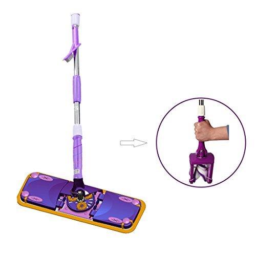 carmilo-smart-microfiber-floor-dust-flat-mop-purple-twist-dry-function-360-rotation-wet-dry-double-c