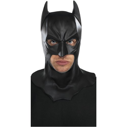 Batman Full Mask with Cowl Costume Accessory (Batman Rubber Cowl compare prices)
