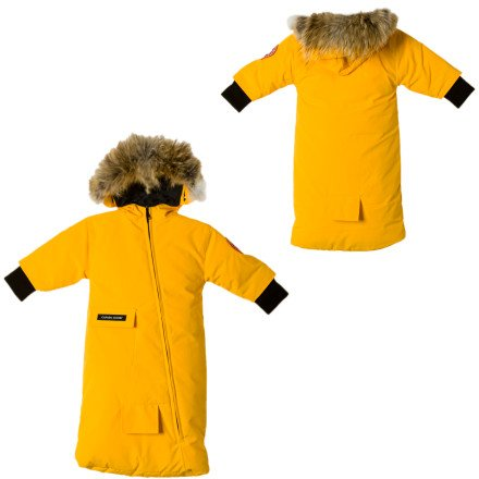 Canada Goose Baby Bunting - Infant Girls' Yellow, 3-6M