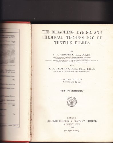 Dyeing and Chemical Technology of Textile Fibres