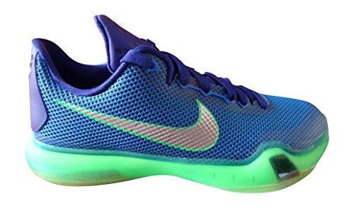 Nike Kobe X Scarpe da pallacanestro, Bambino, multicolore, 36