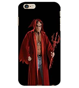 APPLE IPHONE 6 S PLUS DEVIL Back Cover by PRINTSWAG