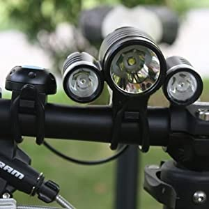 Click Here For Cheap Tsss Waterproof 1x Cree Xm-l T6 Led + 2x Xpe R2 Led Bicycle Light For Sale