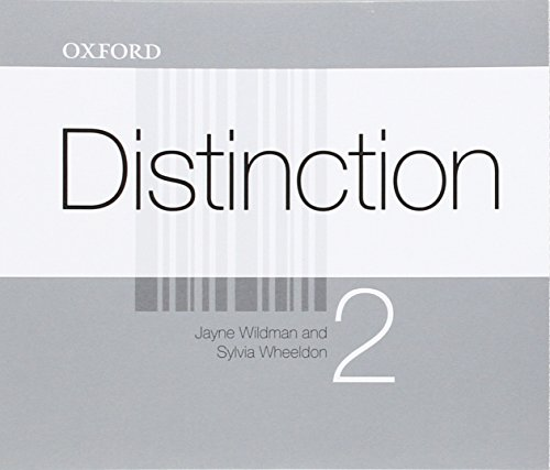 Distinction 2: CD(4)