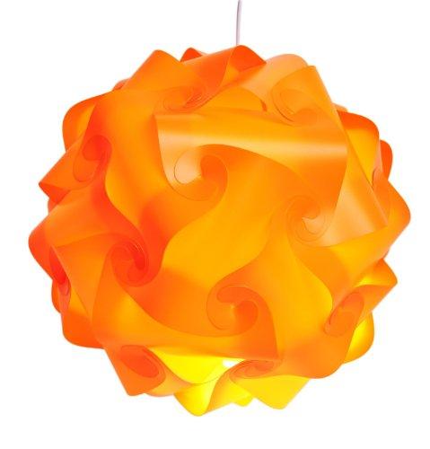 Infinity Lights - Puzzle Lamp Shade Kit (Orange, Medium)