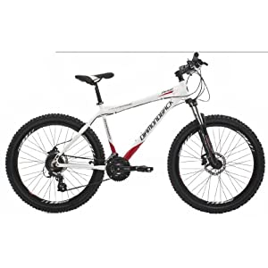 Diamondback Ridge Men's Mountain Bike - White, 26 Inch