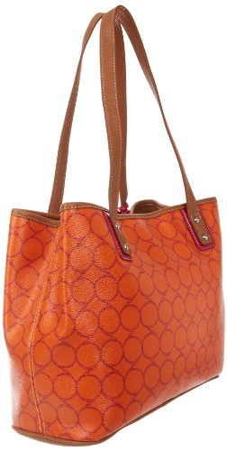 Nine West Printed Nines Medium Shopper Tote