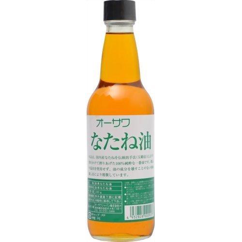 オーサワジャパン オーサワのなたね油(ビン) 330g