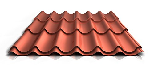 stahl-pfannenblech-ps47-1060rta-050-mm-35-um-mattpolyester-farbeziegelrotlange5000-mm