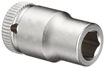 "Wera Zyklop 8790 HMA 1/4"" Socket, Hex head 1/4"" x Length 23mm"