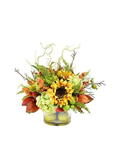 Creative Displays Fall Harvest Mixed Floral Arrangement